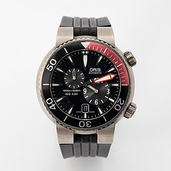 "Oris, Divers Regulator, ""Der Meistertaucher"", wristwatch, 44 mm."