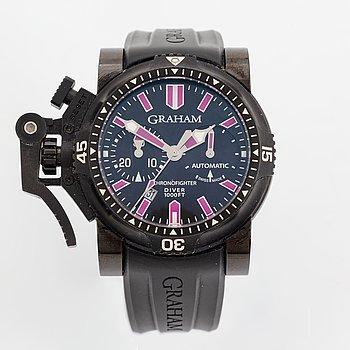 Graham, Chronofighter Oversize, Diver, chronograph, wristwatch, 47 mm.
