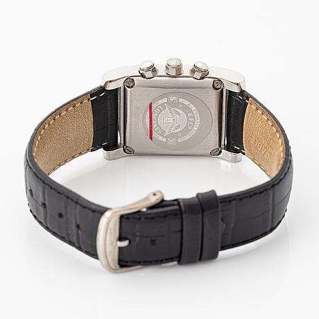 Longines, dolce vita, chronograph, wristwatch, 28 x 33,5 (41) mm.