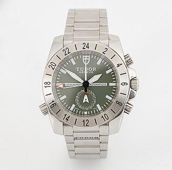Tudor, Aeronaut GMT, wristwatch, 40 mm.