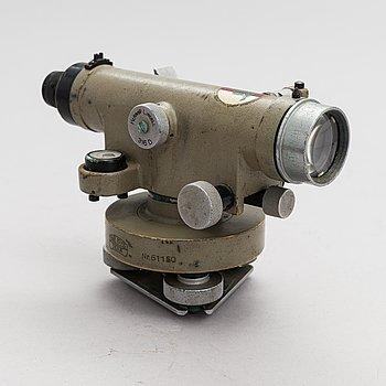 Carl Zeiss, Surveyor's level. Mid 20th century.