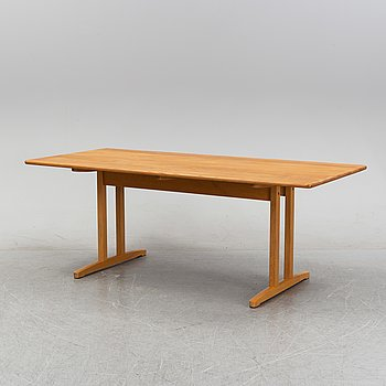 An oak 'Shaker Table' by Børge Mogensen, second half of the 20th Century.