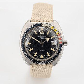 Tevomatic, Diver, wristwatch, 39 mm.