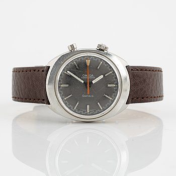 Omega, Chronostop, chronograph, wristwatch, 35 x 39,5 mm.