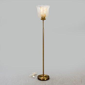 Bo Notini, a Glössner & Co floor lamp, Sweden 1940-50's.