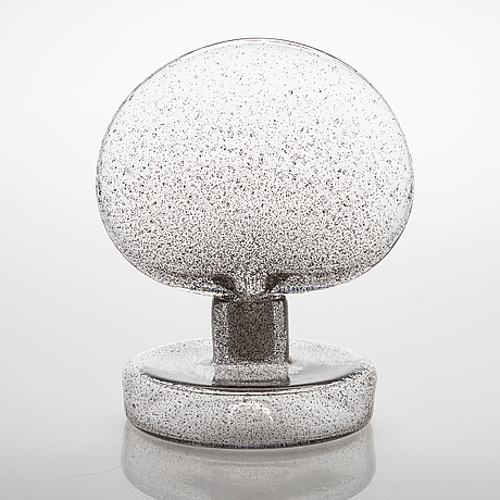 Carina seth andersson, an unique glass sculpture 'lava' signed carina seth andersson/em. 2019.