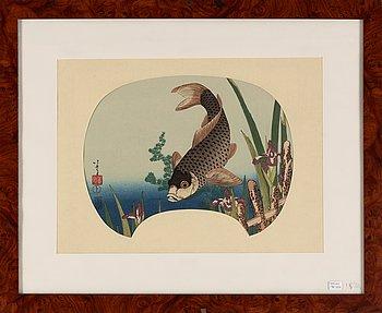 Katsushika Hokusai, after, colour woodblock print, Japan, 19th Century.