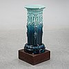 A majolica pedestal from rörstrand, early 20th century.