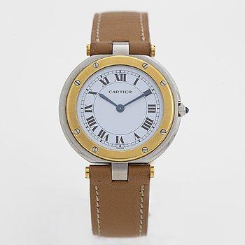 Cartier, Santos VLC, wristwatch, 32,5 mm.