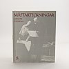 "Book, 8 vol, ""master drawings through the ages"", allhem, malmö, 1965."