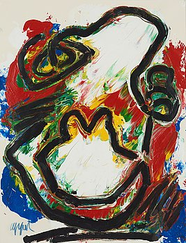 153. Karel Appel, Untitled.