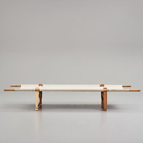 Ole gjerløv–knudsen, daybed, 'ogk', skovshoved møbelfabrik, denmark.