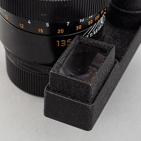 Leitz canada, elmarit 1:2,8/135mm, no 3104273, 1981.