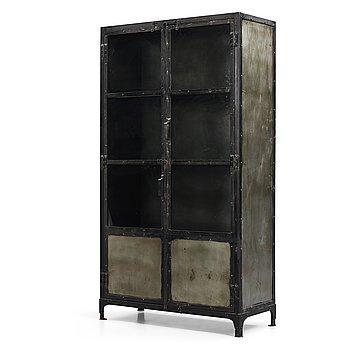 A contemporary showcase cabinet.