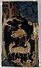 A rug, a semi-antique baotou figural, ca 161,5 x 86,5-91,5 cm.