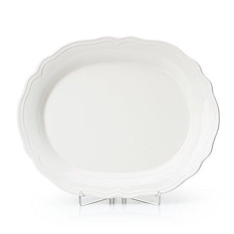 A 21st century ikea large porcelain serving dish.
