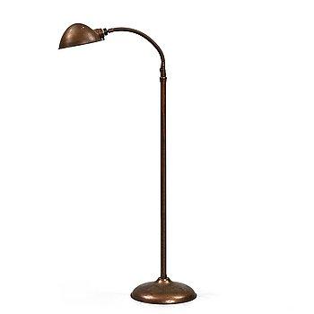 A Robert Schwartz & Bro floor lamp, first half of 20th century, USA.