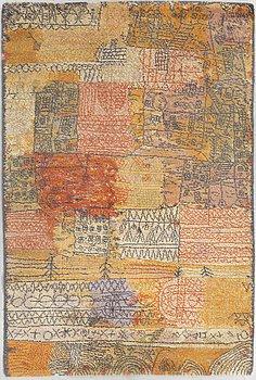 """A Paul Klee rug, Florentinisches villenviertel"""". Machine made pile. 205 x 139 cm."""