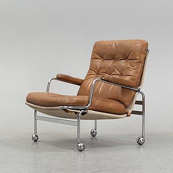 A model 'Karin' easy chair by Bruno Mathsson for Dux.