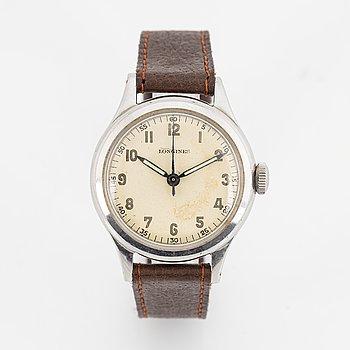 "Longines, ""Sei Tacche"" wristwatch, 33,5 mm."