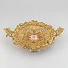 An ormolu and parcel-gilt table centerpiece, late 19th century.