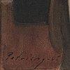 Johan patricny, watercolour, signed patricny and dated -05.