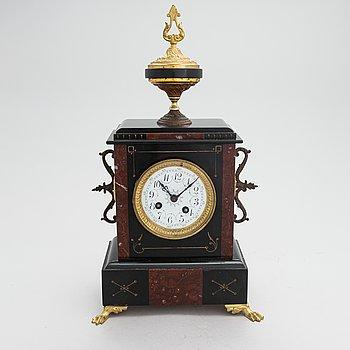A table pendulum clock, second half of the 19th century.