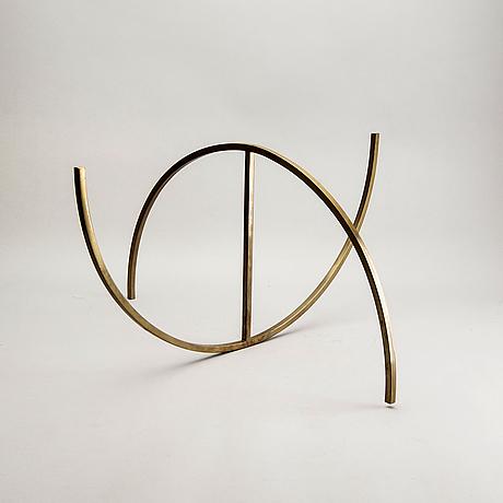 """Bertil herlow svensson, """"fragmentarisk sfär"""", 1985."""