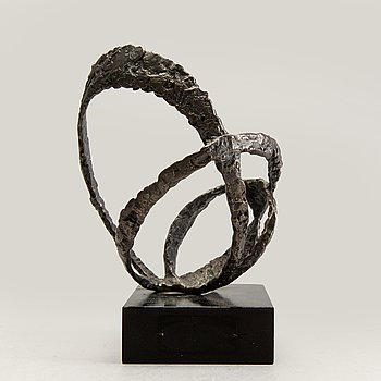 Arne Jones, sculpture bronze, signed, 1950s.