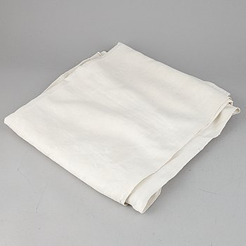 A Swedish linen tablecloth dated 1932.