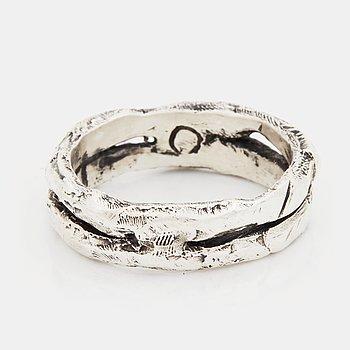 Tobias Wistisen, ring, silver.