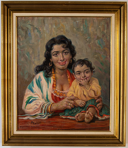 Per-hilding perjons, oil on canvas, signed and dated -65.