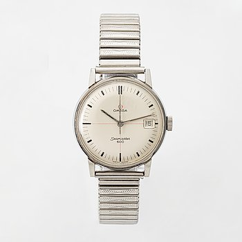 """Omega, Seamaster 600, """"Technical Dial"""", wristwatch, 34,5 mm."""