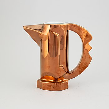 A porcelain jug/vase 'Jarrita Florero' by Javier Mariscal, 1980's.