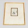Two japanese woodblock prints after utagawa kunisada, japan, edo.