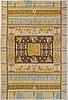 A finnish 1920/1930's flat weave carpet. circa300x200 cm.