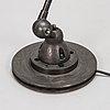 A jielde industrial lamp / floor lamp, designed by jean-louis domecq, lyon, france.