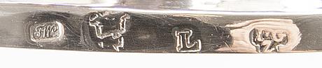 A german/königsberg silver bonbonnière, weight 194 gr.