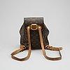Louis vuitton, a monogram canvas 'montsouris' backpack.