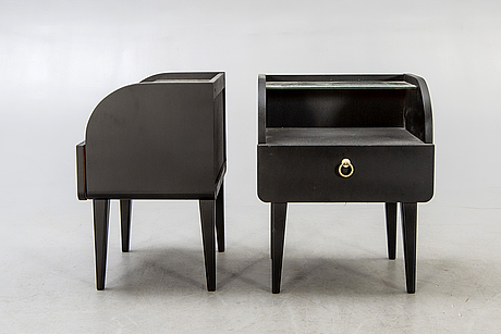 Bedside table, a couple, 1950s.