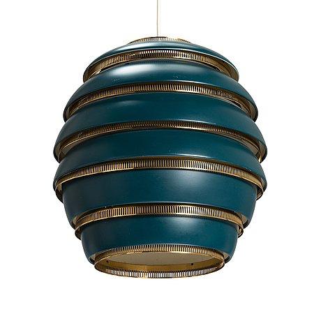 Alvar aalto, a pendant lamp a332, 'beehive' for valaistustyö.