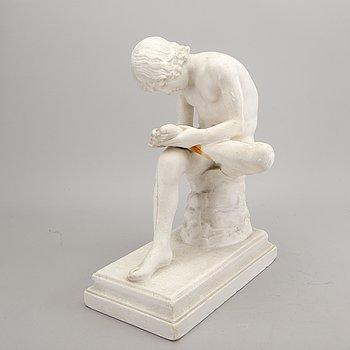 Fritz Kochendörfer, sculpture, plaster, signed.