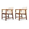 Carl gustaf hiort af ornäs, a pair of mid-20th century 'korsika' armchairs, puunveisto oy- träsnideri ab.