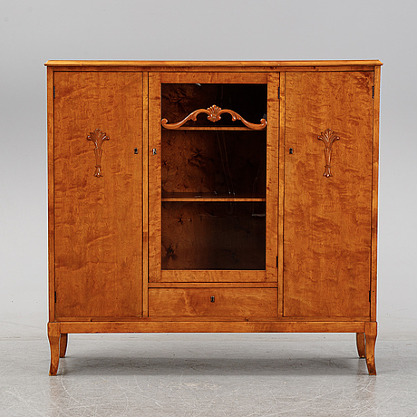 A swedish empire style cabinet, frist half of the 20th century.