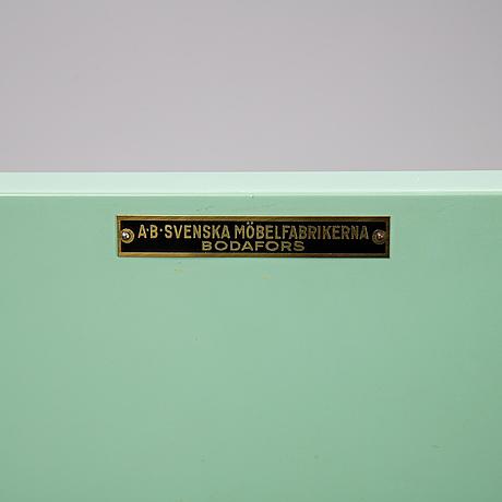 David blomberg, a macassar veneered cabinet, ab svenska möbelfabrikerna bodafors, 1930's.