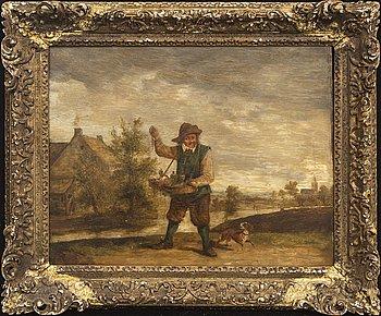 David Teniers dä,  hans art olja på pannå.