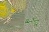Juan carlos quintana, olja på duk, signerad och daterad -87.