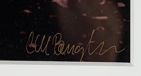 Carl bengtsson, photograph signed.