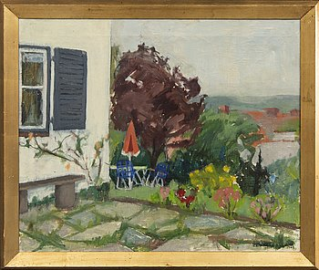 Astrid Harms-Ringdahl, oil on canvas, signed, dated 1964.