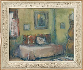 Ilmari Huitti, oil on canvas, signed and unclearly dated.